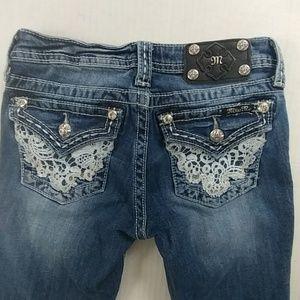 Miss Me Girls JK6171B Bootcut Jeans Size 14
